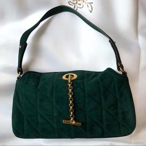 Never Used Suede St. John Handbag